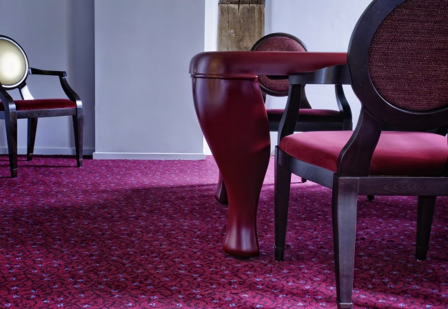 Desso custom made carpets at Hotel Bethlehem