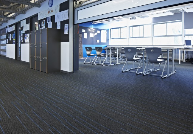 Desso AirMaster carpet at International School Brussels